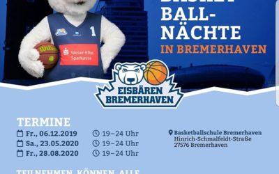 Basketball-Nächte in Bremerhaven